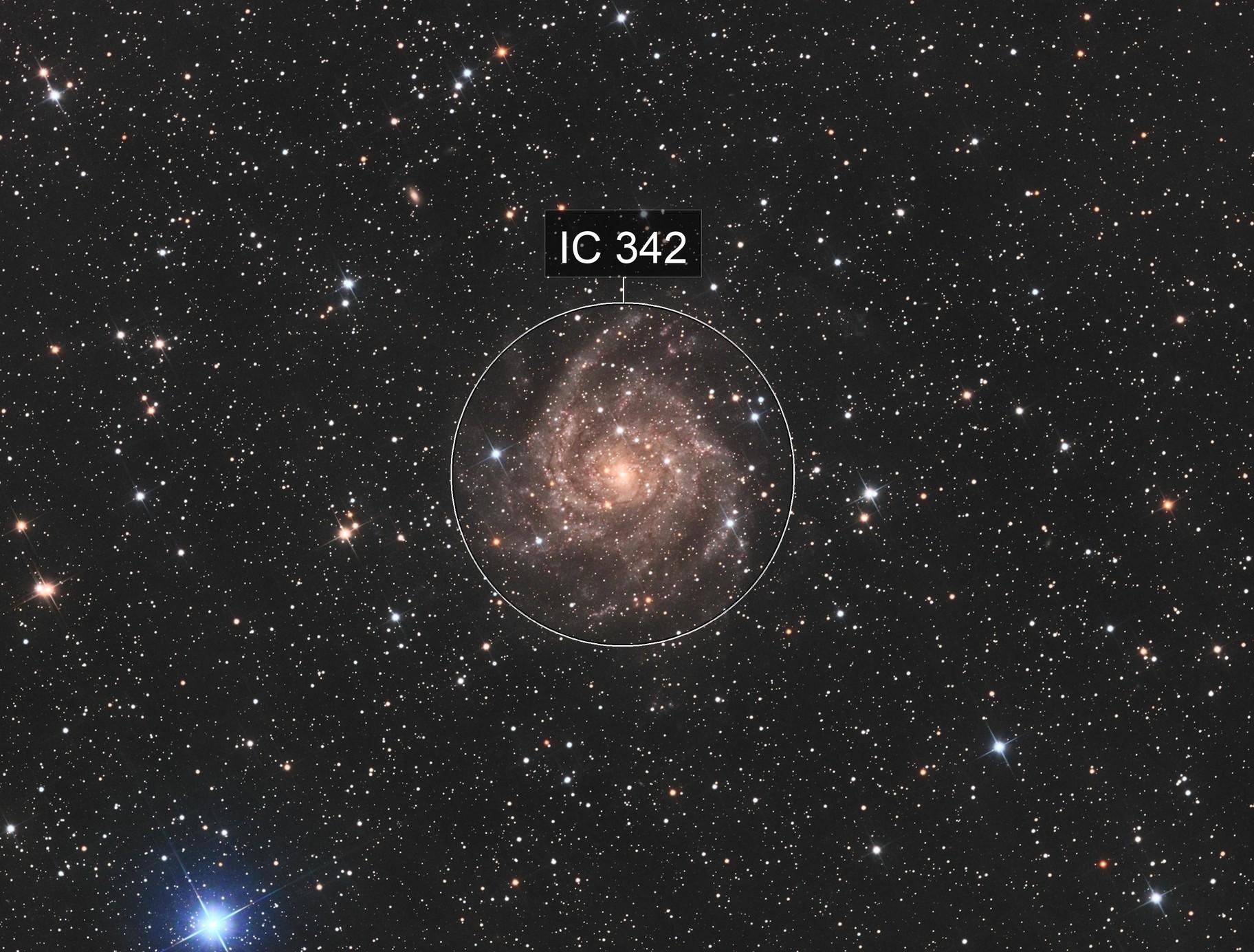 IC342 - The Hidden Galaxy