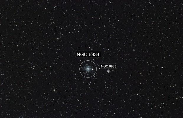 NGC6934 2019 globular cluster NGC6933