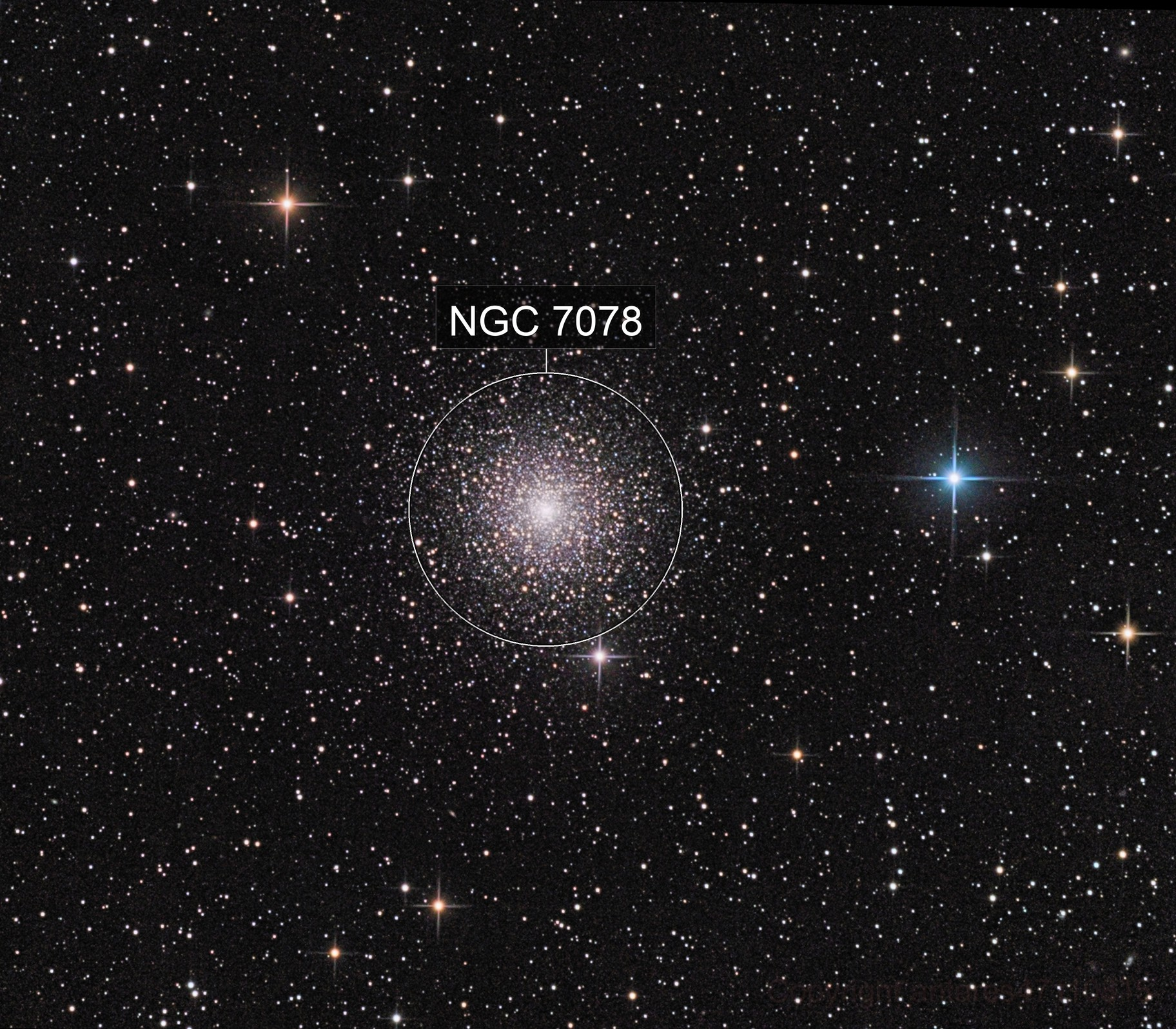M015  2018 globular cluster