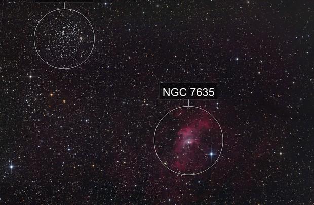 M052 2019 +NGC7635 + KjPn8