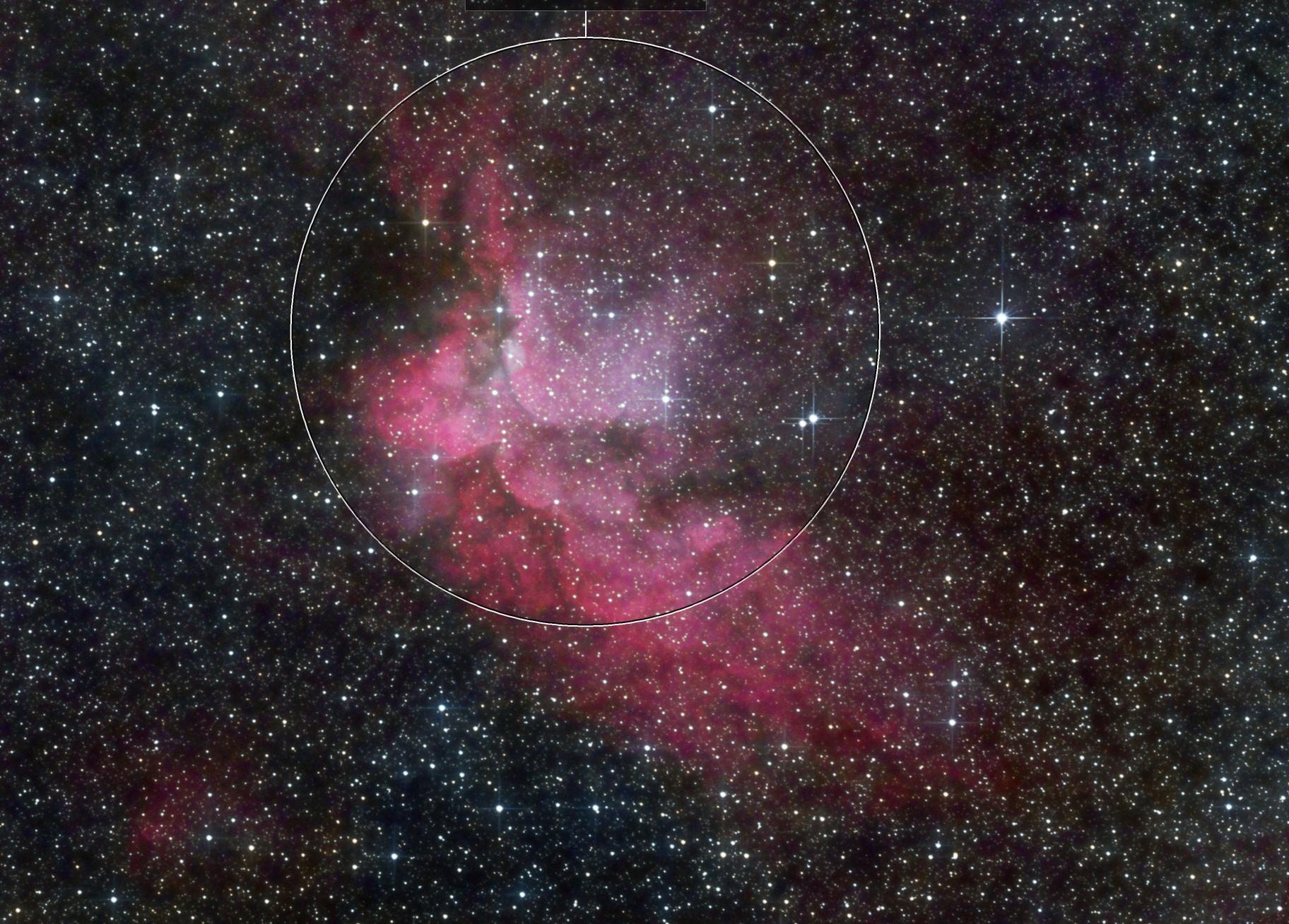 NGC7380 2019 H-Alpha RGB
