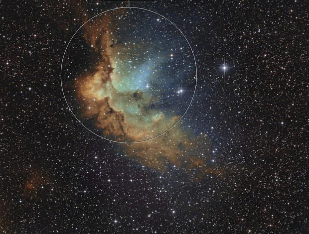 NGC7380 2019 hubble palett