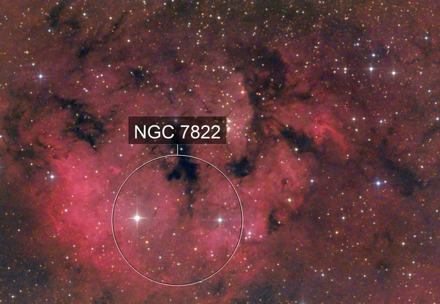 NGC7822 2020 H-alpha
