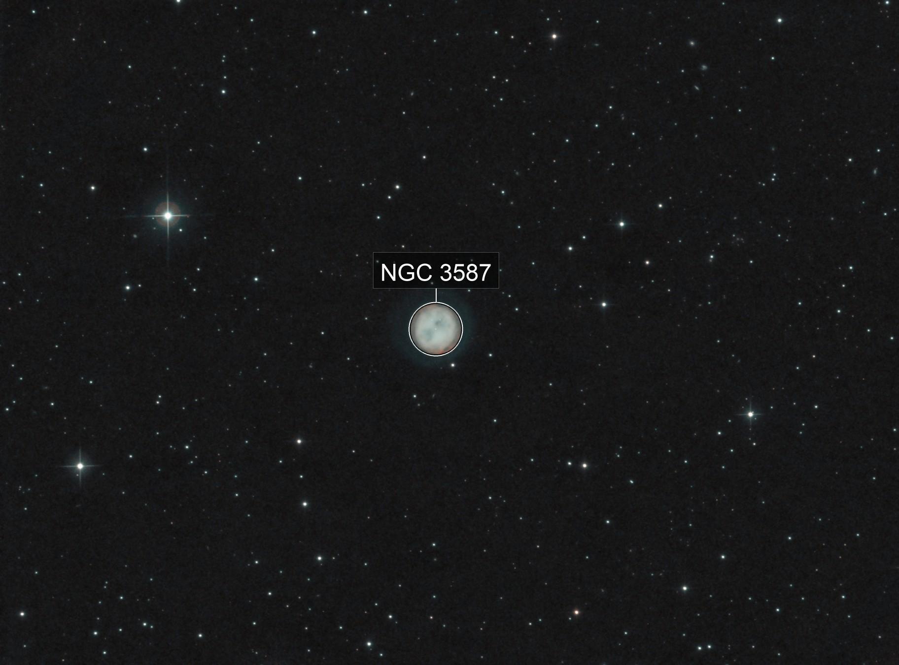 M097 2019 with faint OIII halo