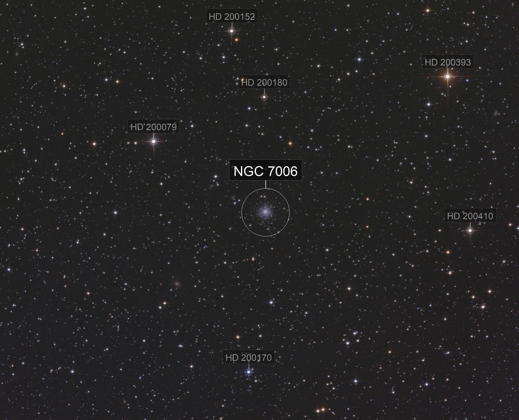 NGC 7006 LRGB