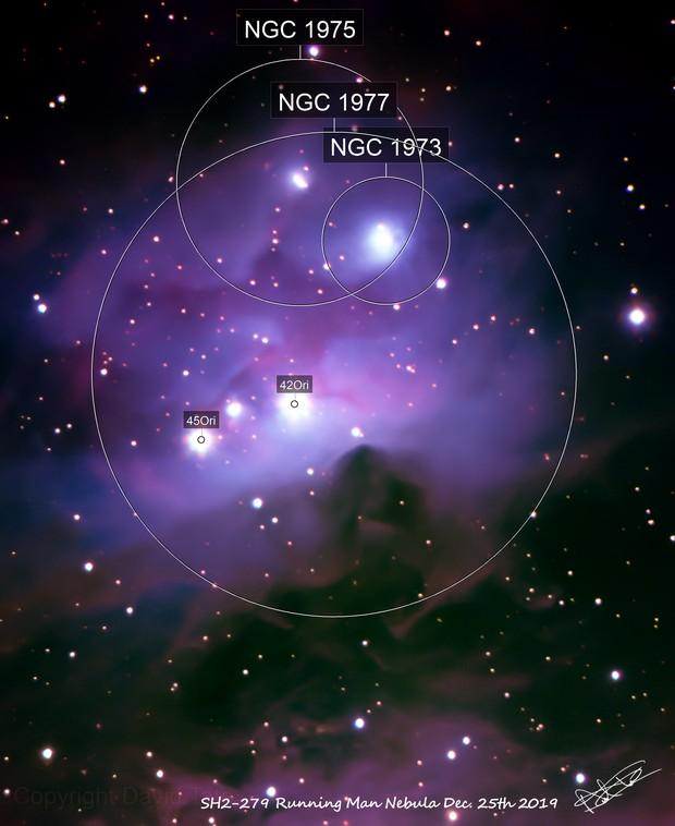 SH2-279 Running Man Nebula