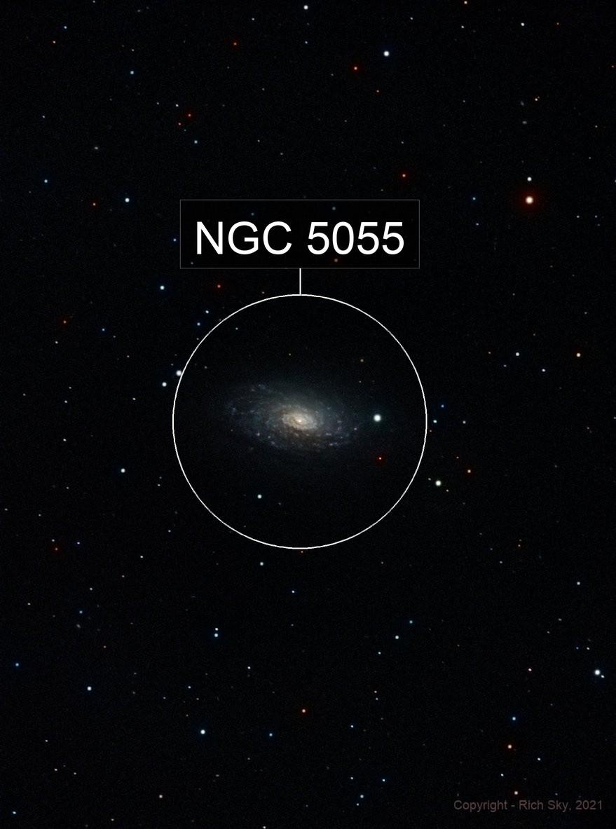 Flocculent galaxy - Canes Venatici