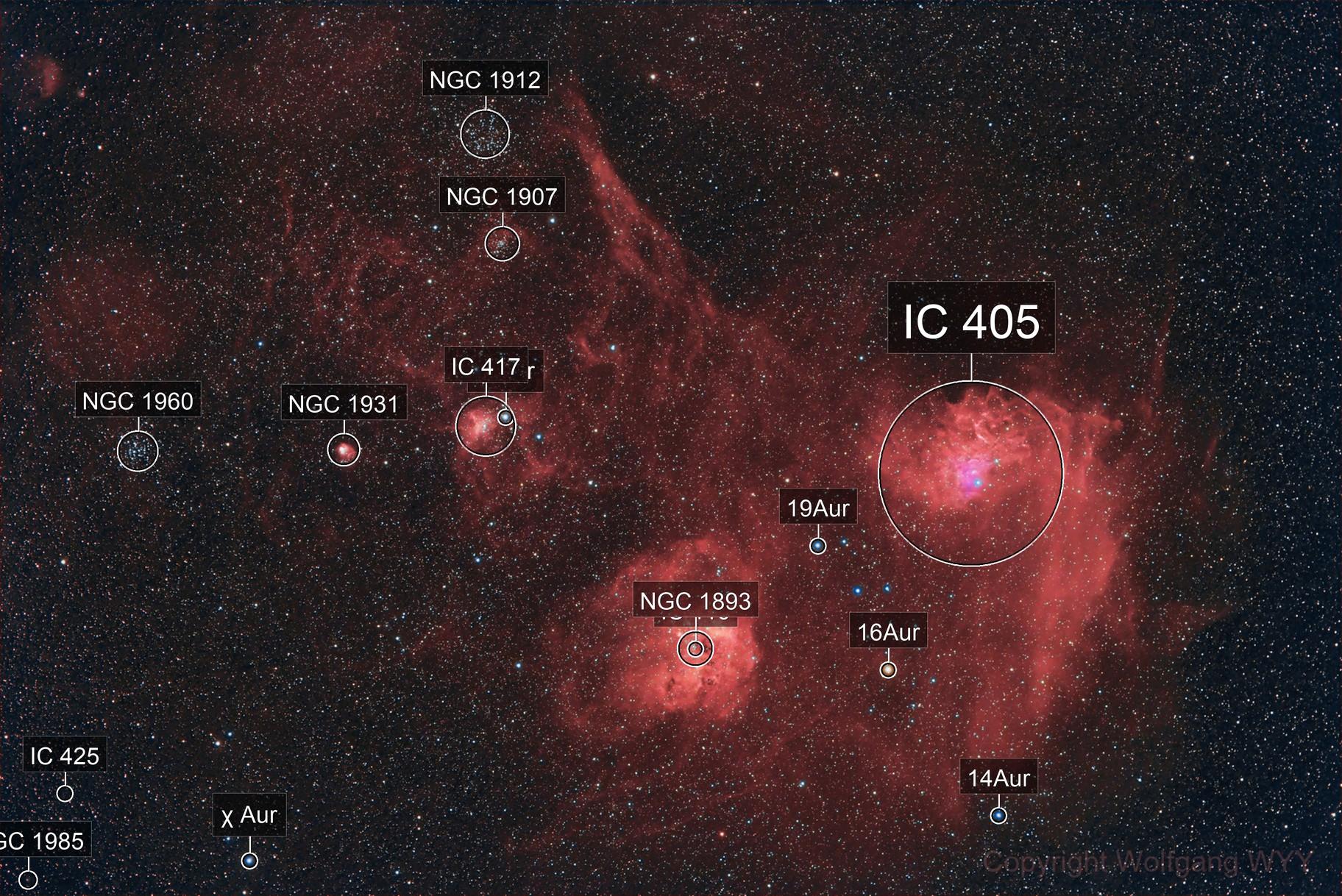 IC 405, IC 410 and friends @ Ha-HGB