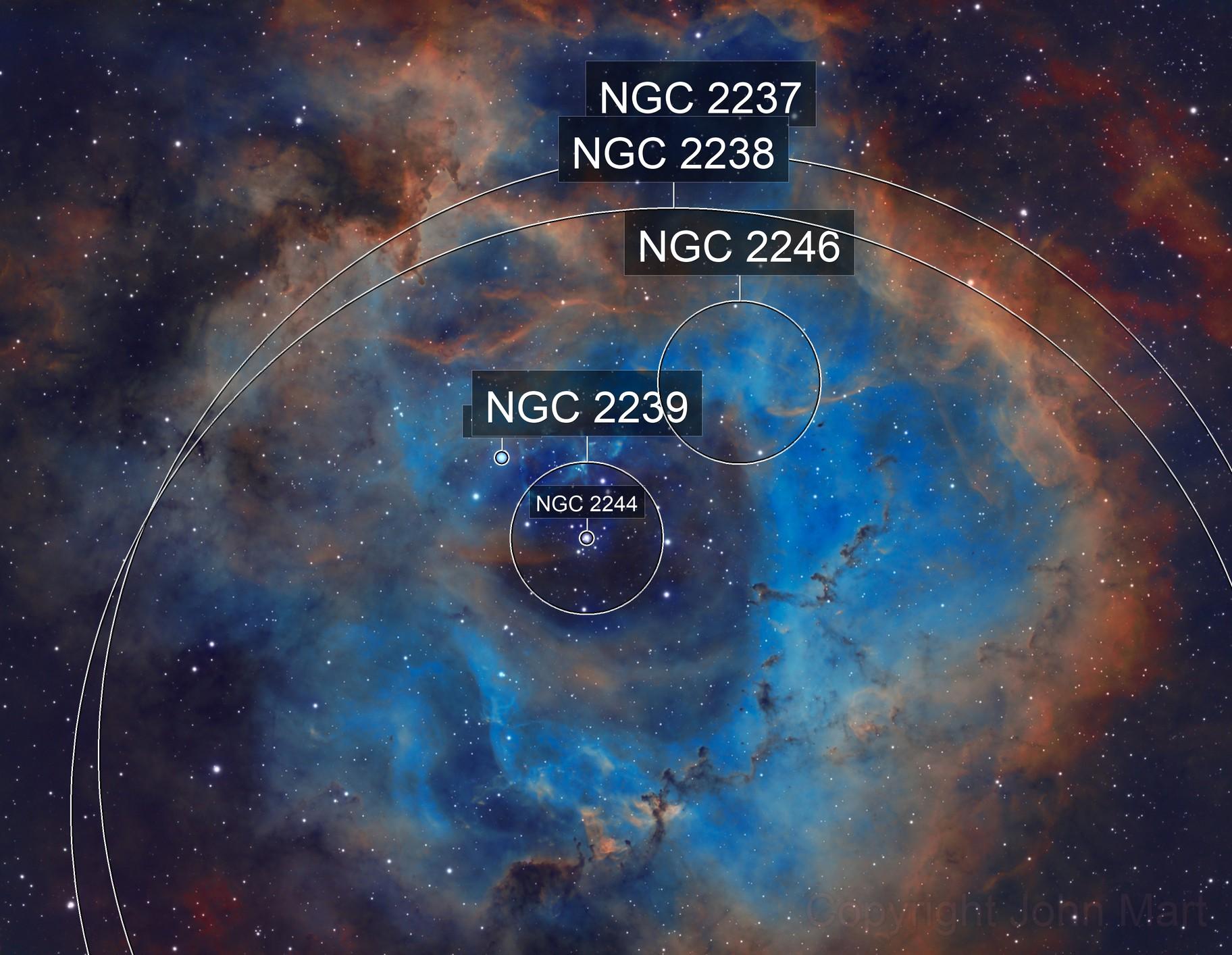 ngc2244 in LSHO