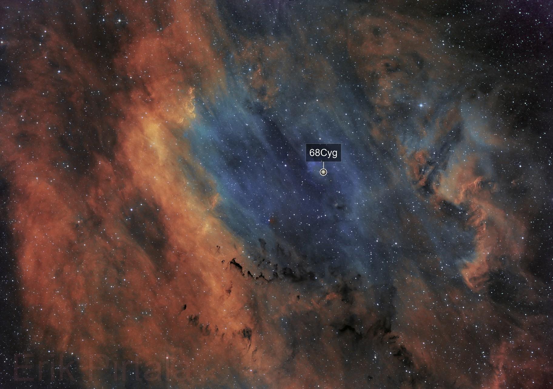 Sh2-119 in Cygnus