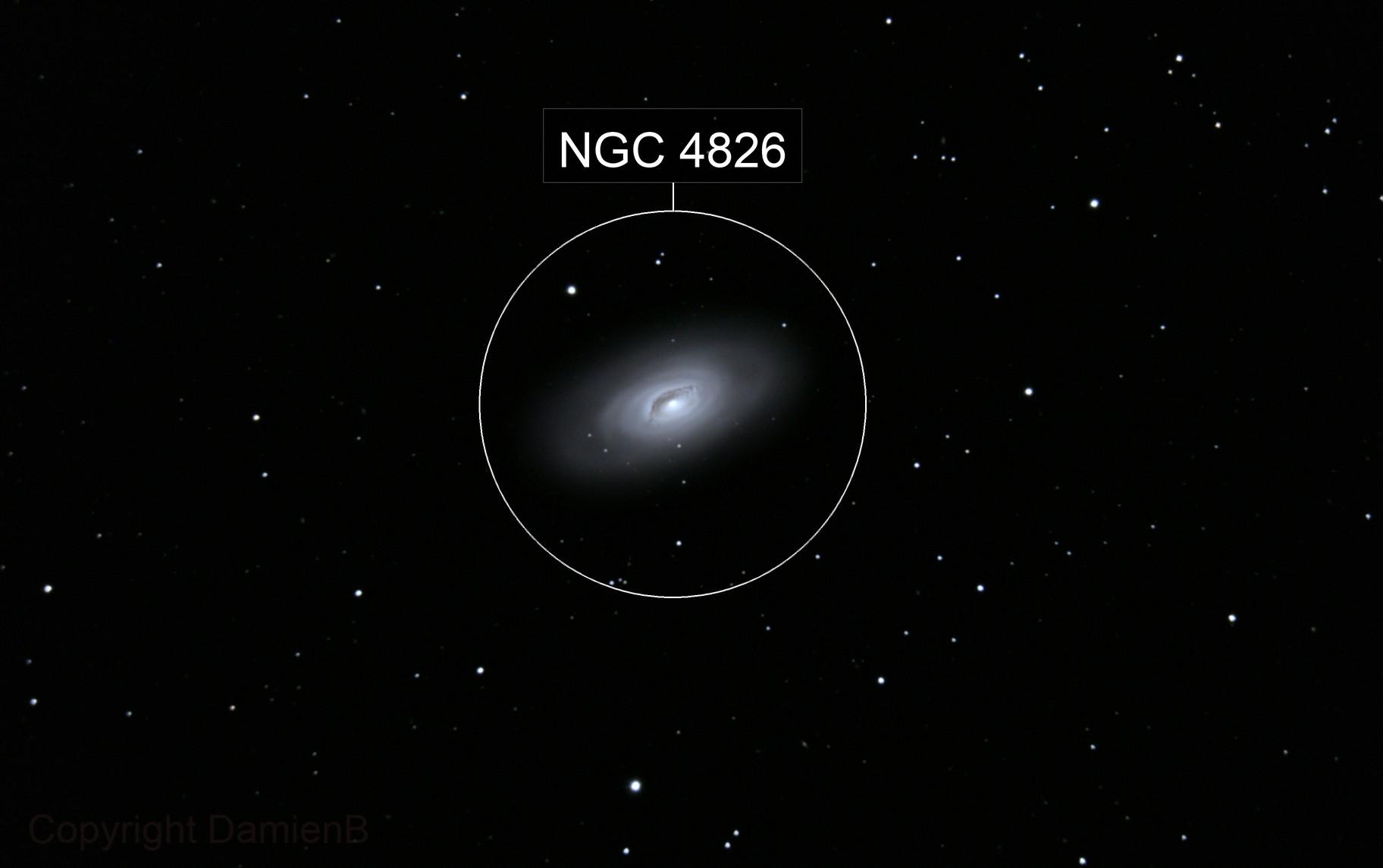 """M64 """"The Black Eye Galaxy"""""""