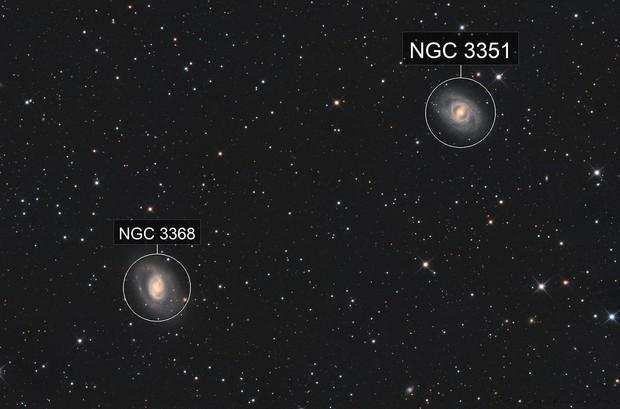 Messier 95 und Messier 96
