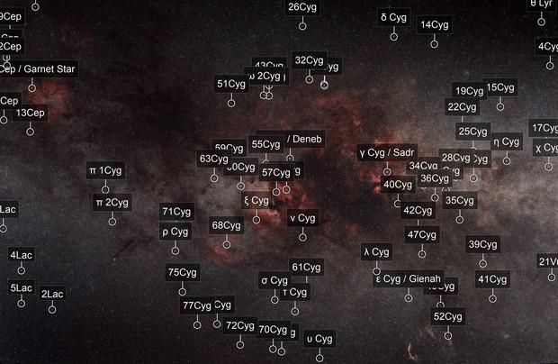 Cygnus Widefield (58mm)