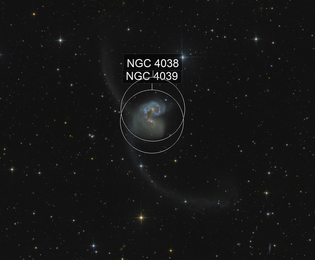 NGC4038/4039 Antenna Galaxies