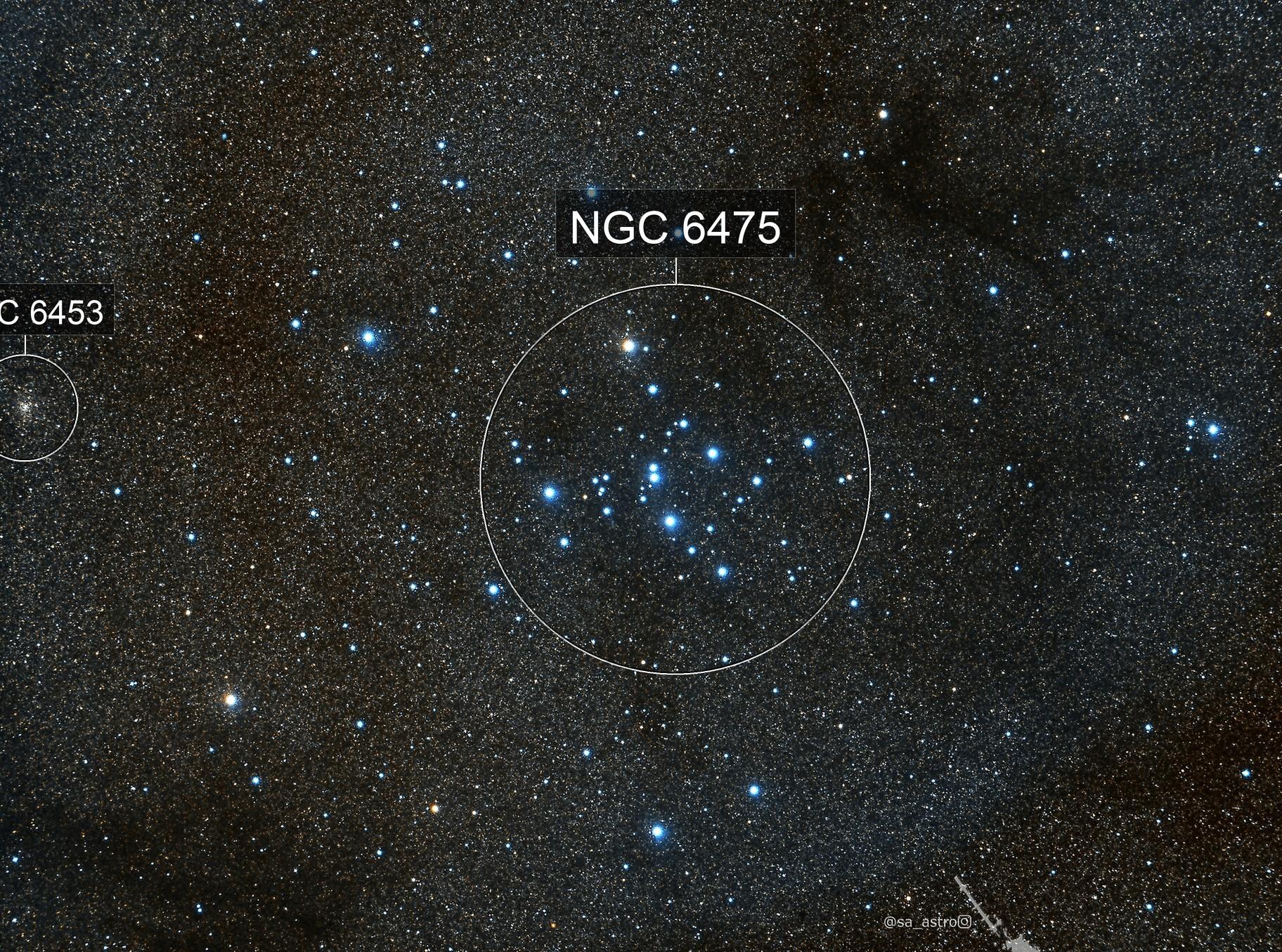 ? a tiny Planetary Nebula near Ptolemy's Cluster (M7)