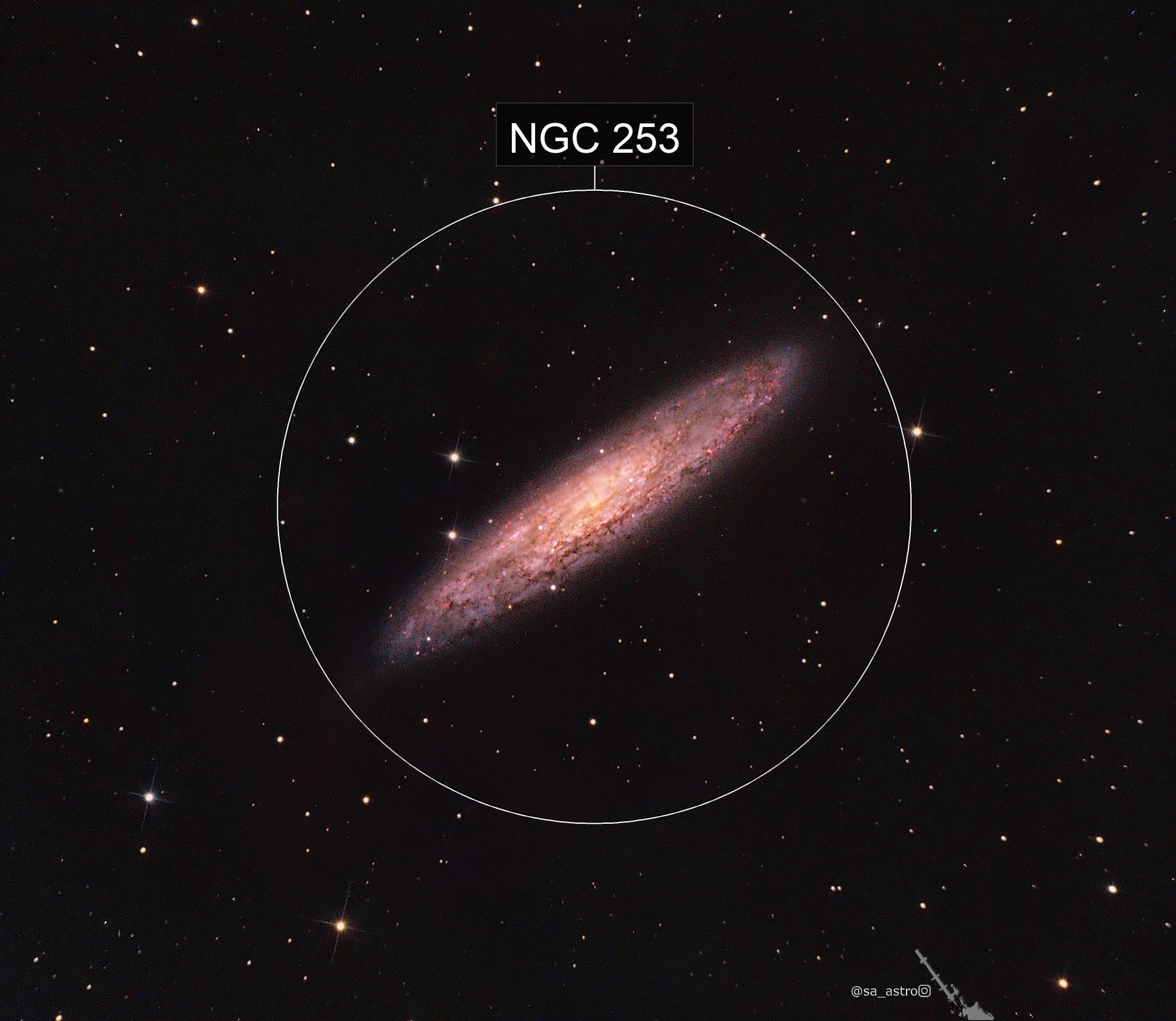 Sculptor Galaxy (NGC 253)