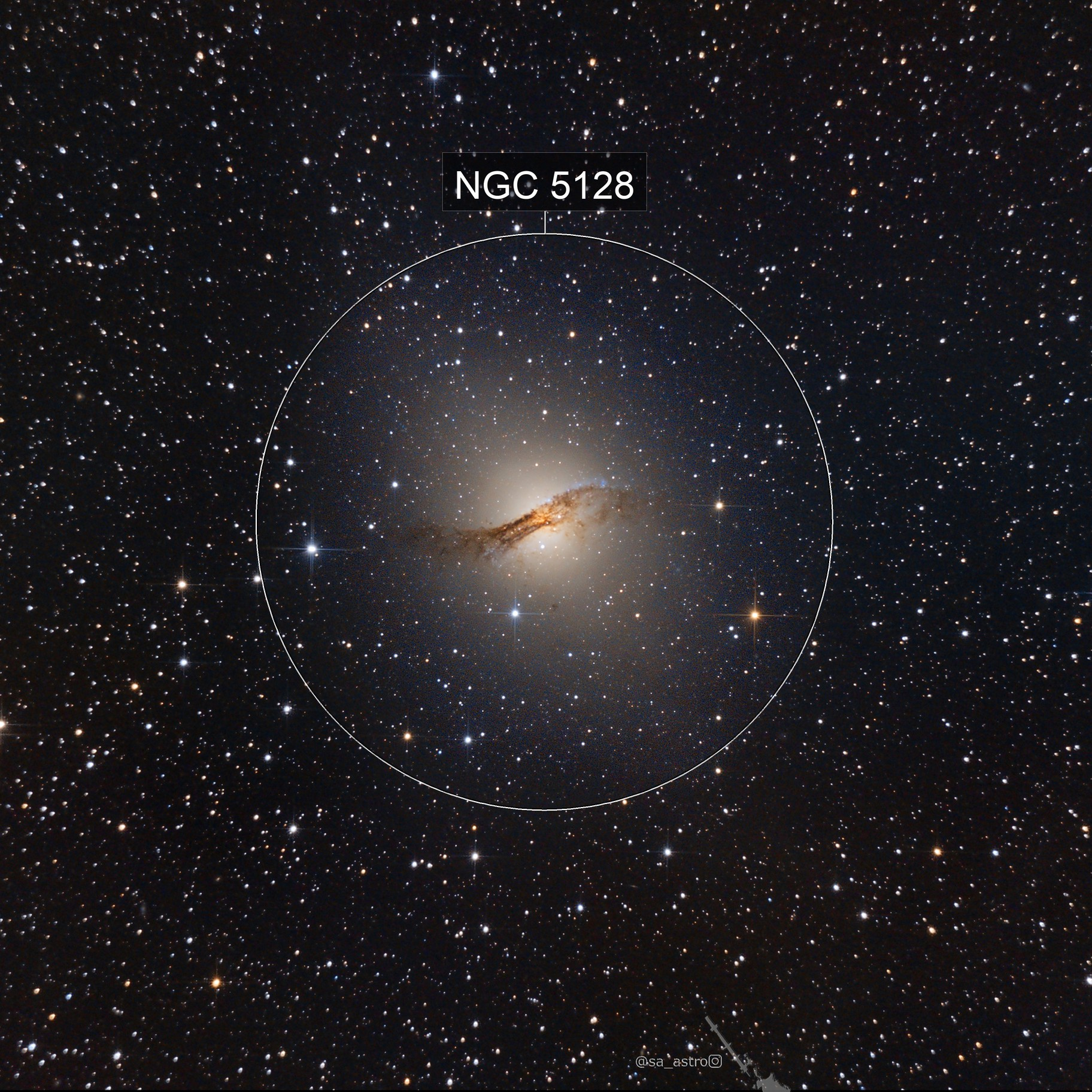 Centaurus A, NGC5128