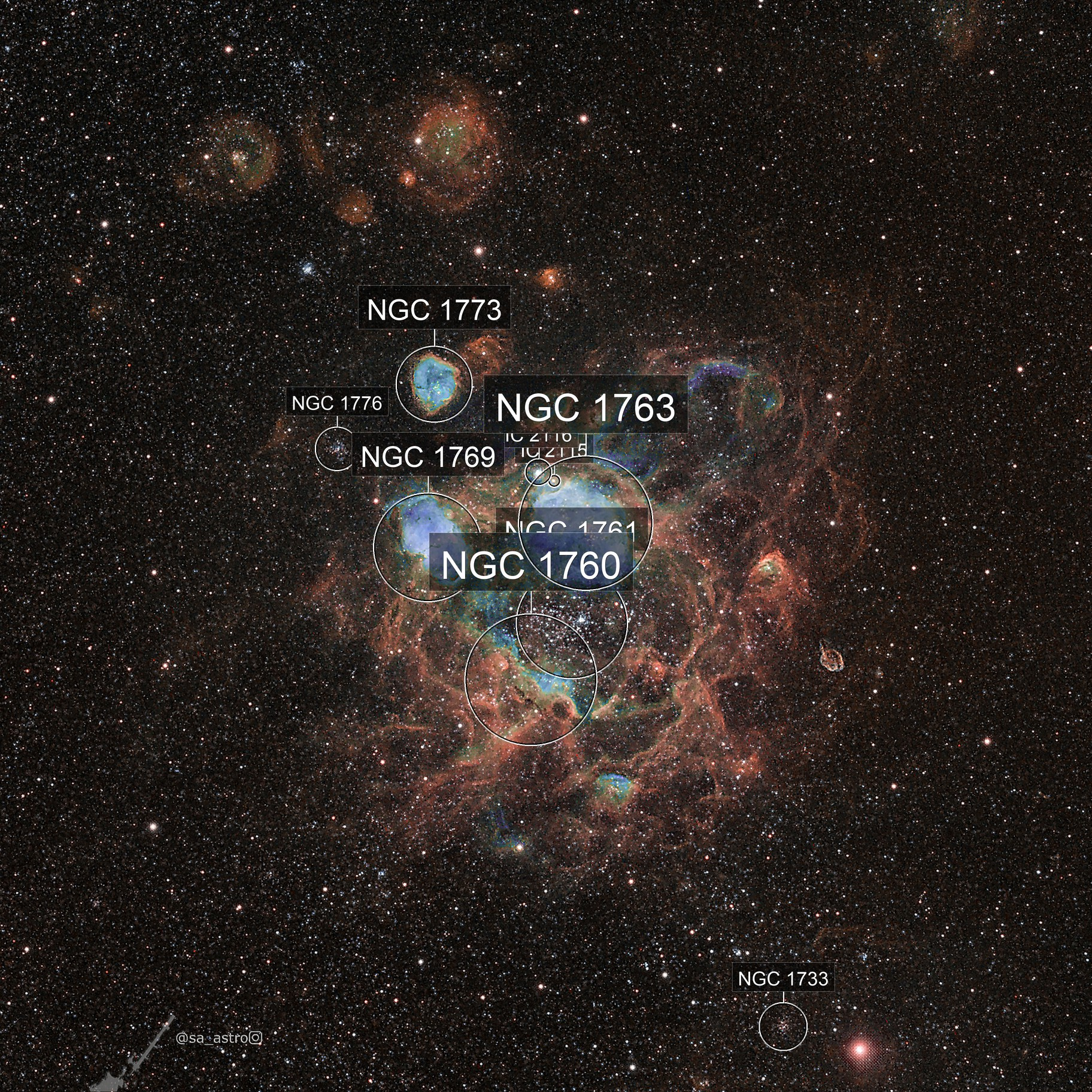 Evading the Spider (NGC 1760)