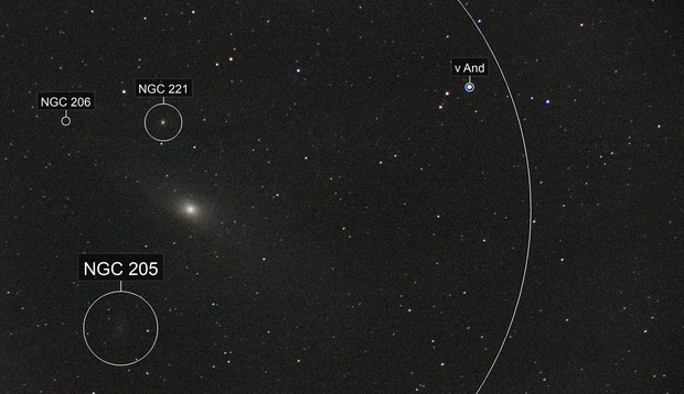 An Andromeda without time - Untracked