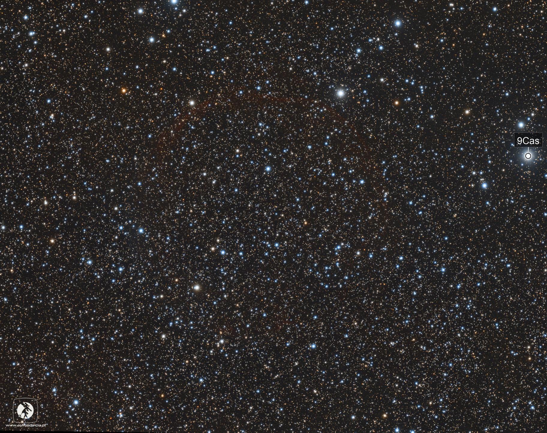 CTB1 / Abell 85 / SNR G116.9+00.1 / LBN 576