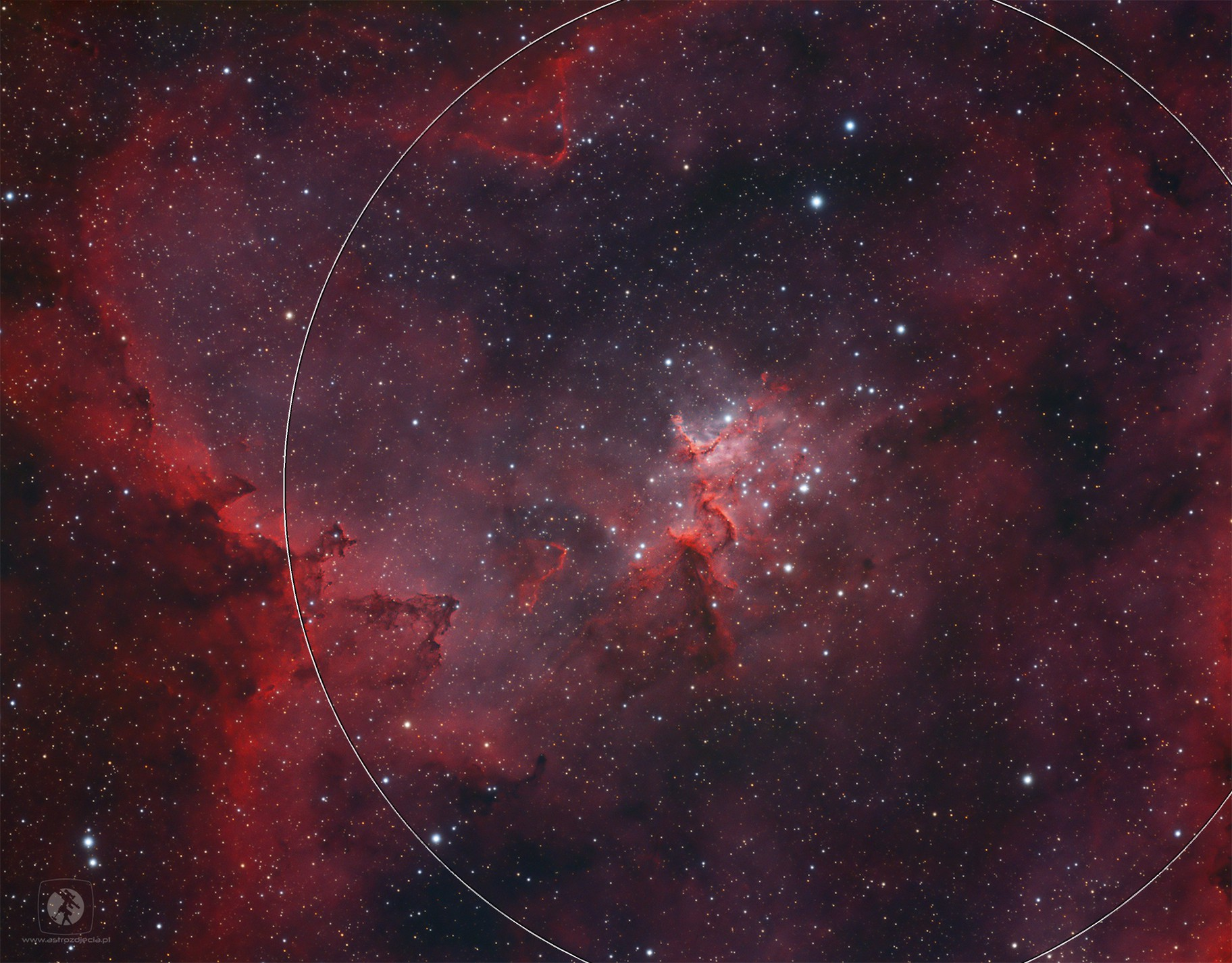 IC1805, Melotte 15