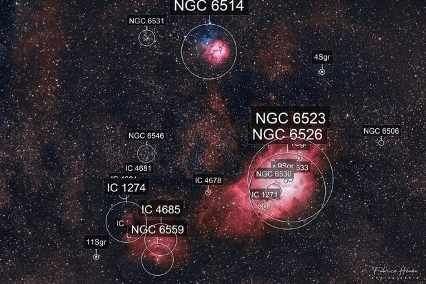 M8 - Nébuleuse du Lagon
