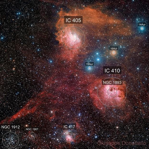 IC 405  zone