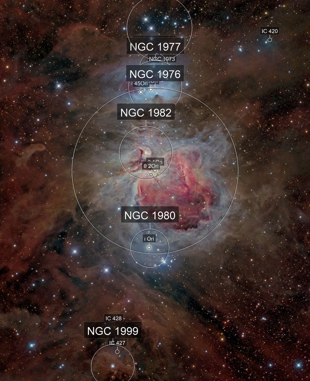 Orion Nebula Complex [Image Of Team]