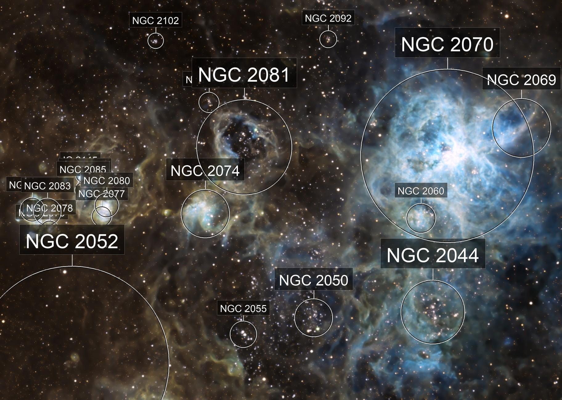 NGC2070 Tarantula Nebula