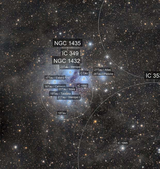 M45 - Pléiades