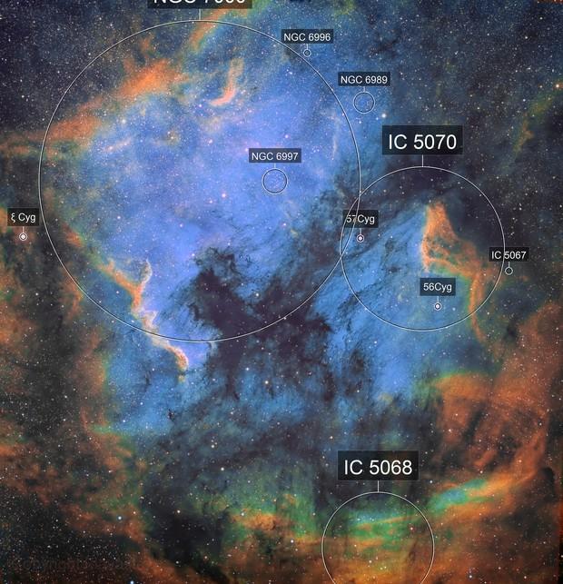 NGC7000 - North America Nebula
