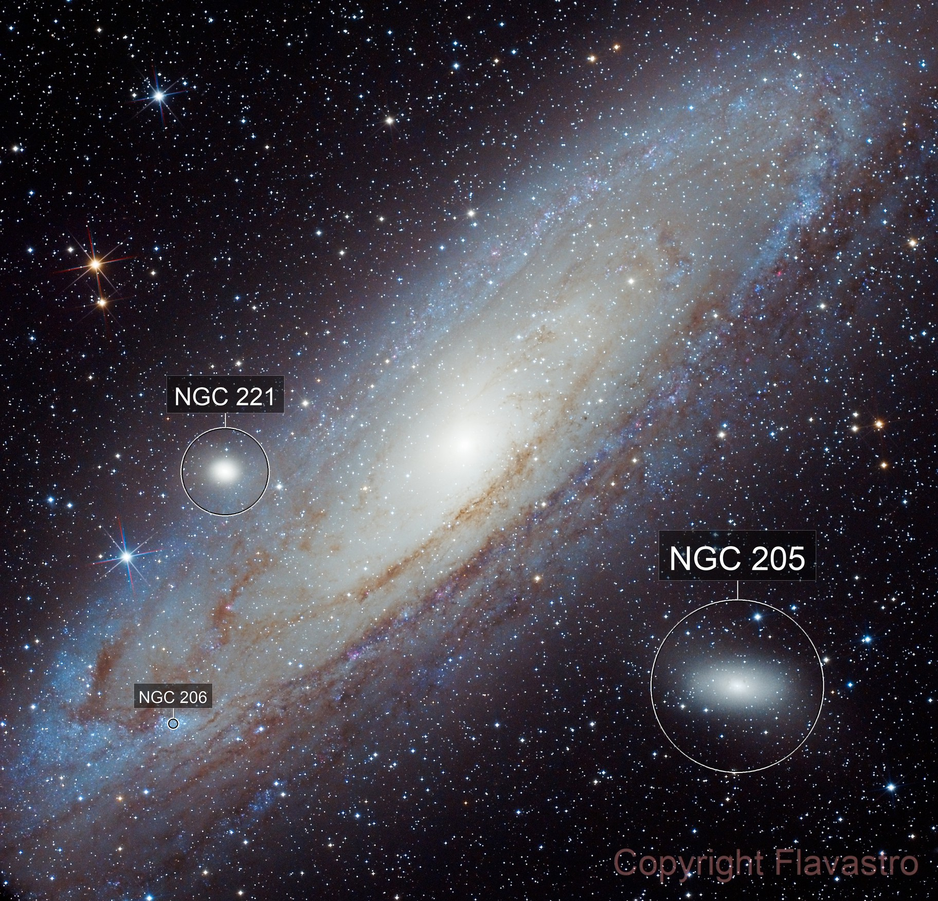 M31-Galaxie d'Andromede