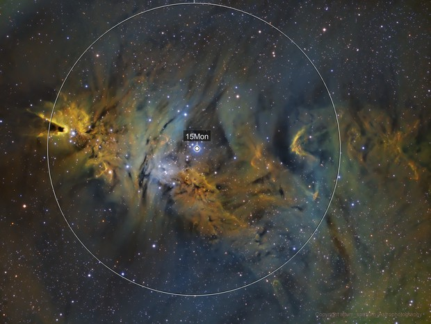 NGC2264, The Cone Nebula
