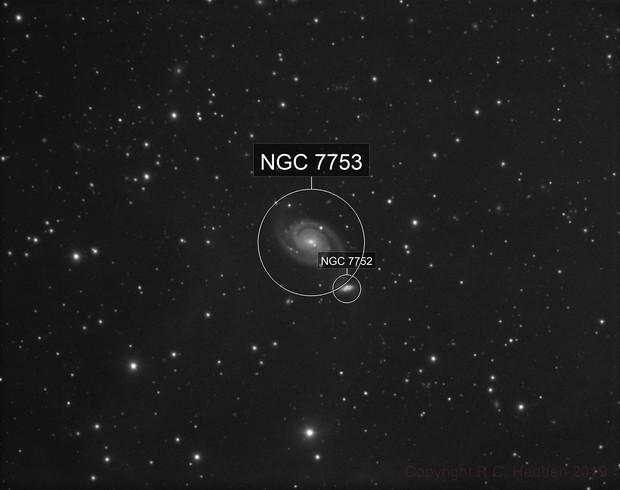 NGC 7752 and 7753 (Arp 86)
