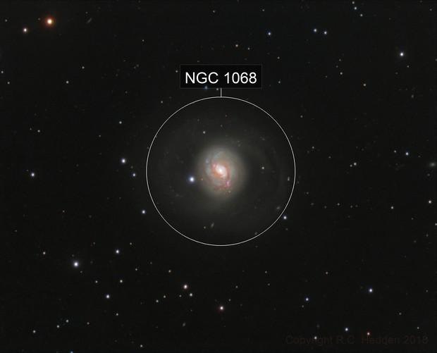 M77 (NGC 1068) RGB