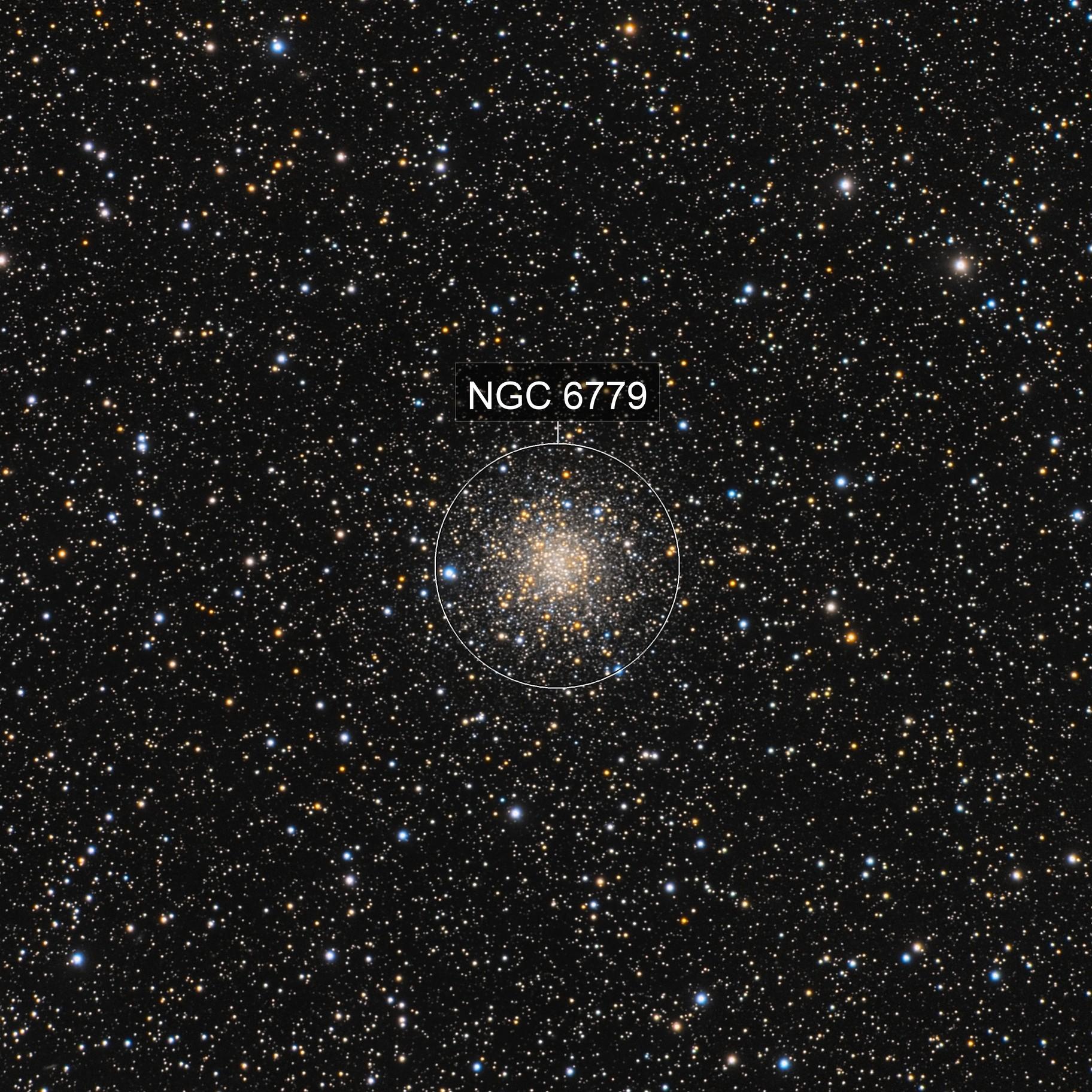 M56 (NGC 6779) - Globular Cluster in Lyra