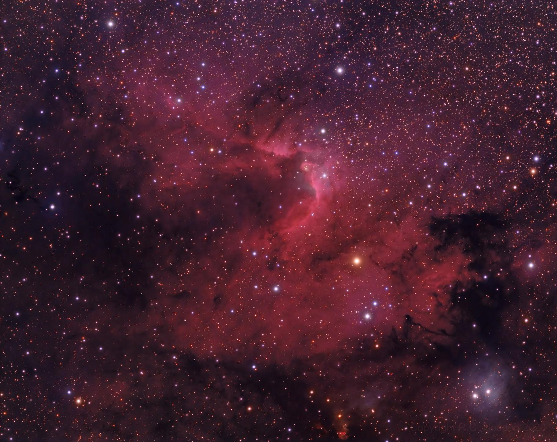 Cave Nebula (Sh2-155)
