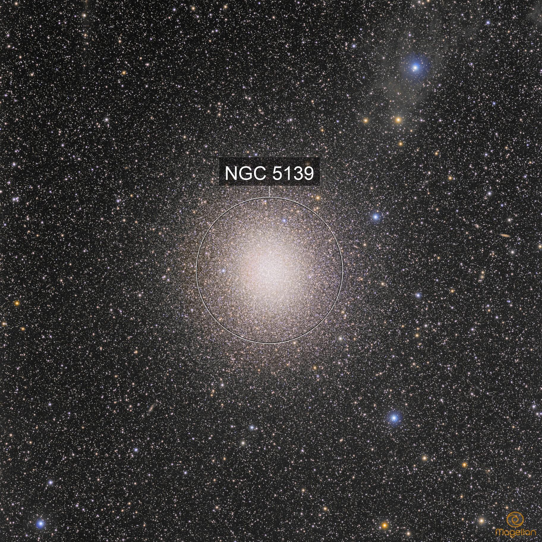 Omega Centauri, IFN and small galaxies