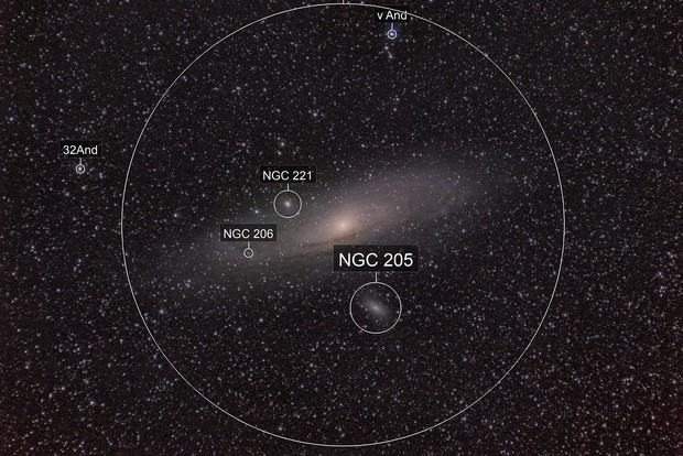 M31, M32 & M110 (Astrotracer)