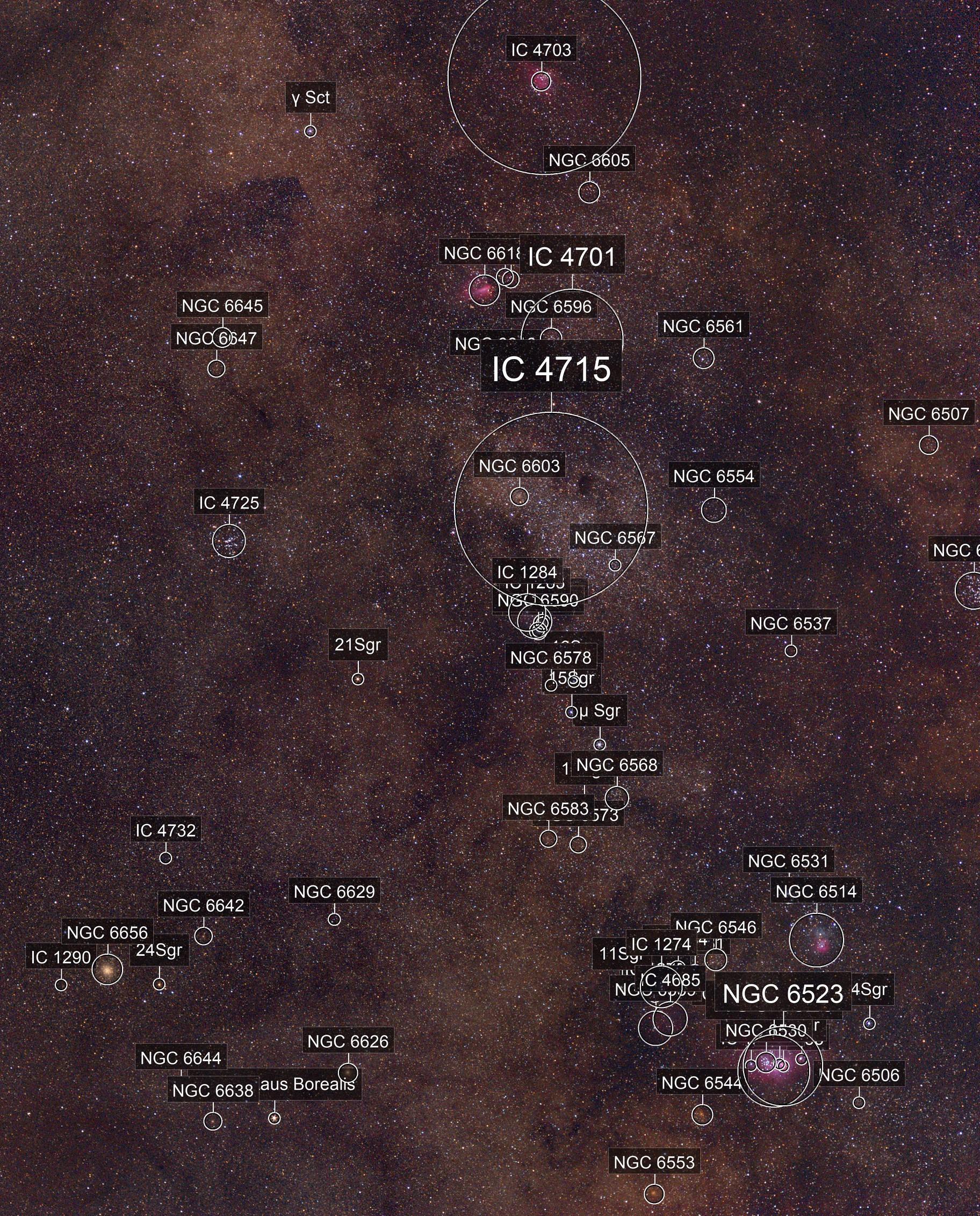 Mosaic: Milky Way Closeup (Astrotracer)