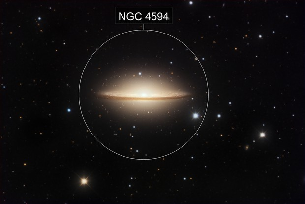 M104, Sombrero Galaxy, NGC 4594