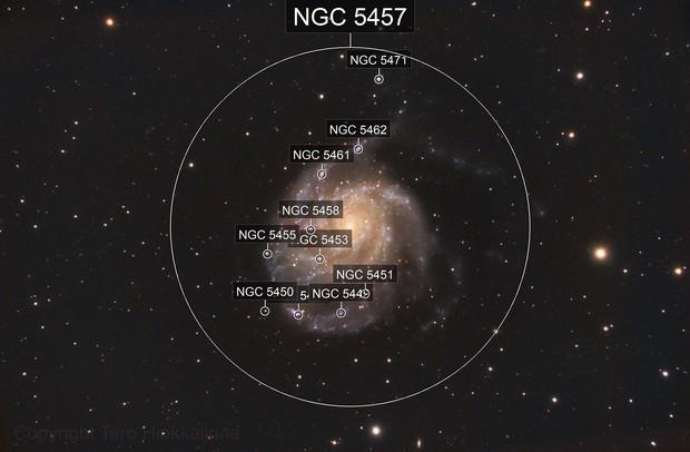 The Pinwheel Galaxy - Messier 101