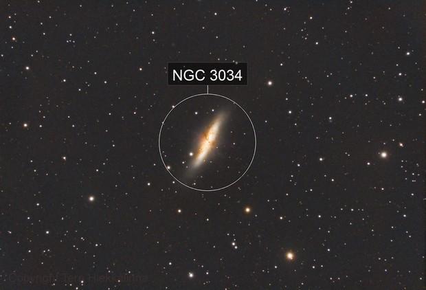 Cigar galaxy