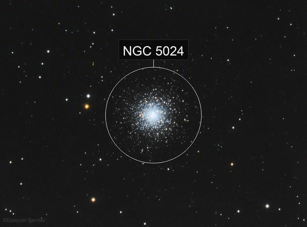 M53 LRGB