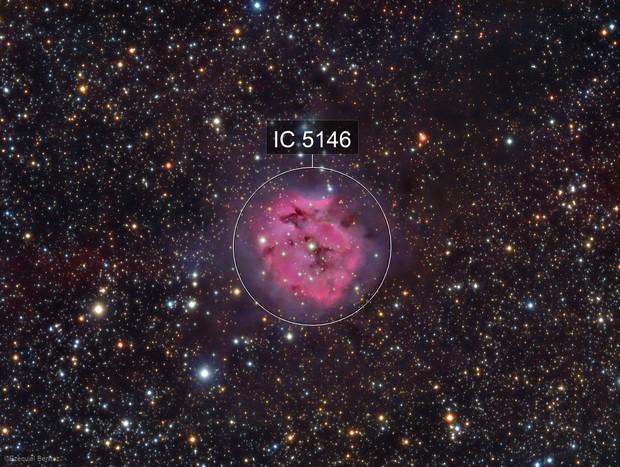 Cocoon Nebula L(HAR)GB