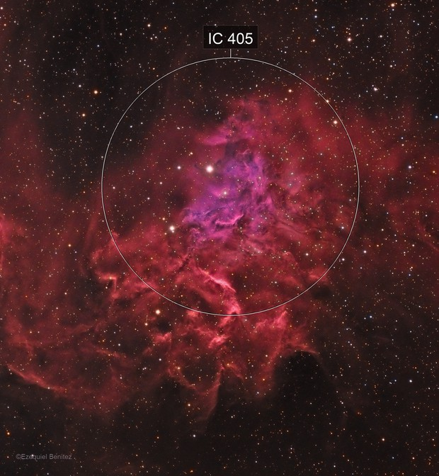 Flaming Star - IC405 HALRGB