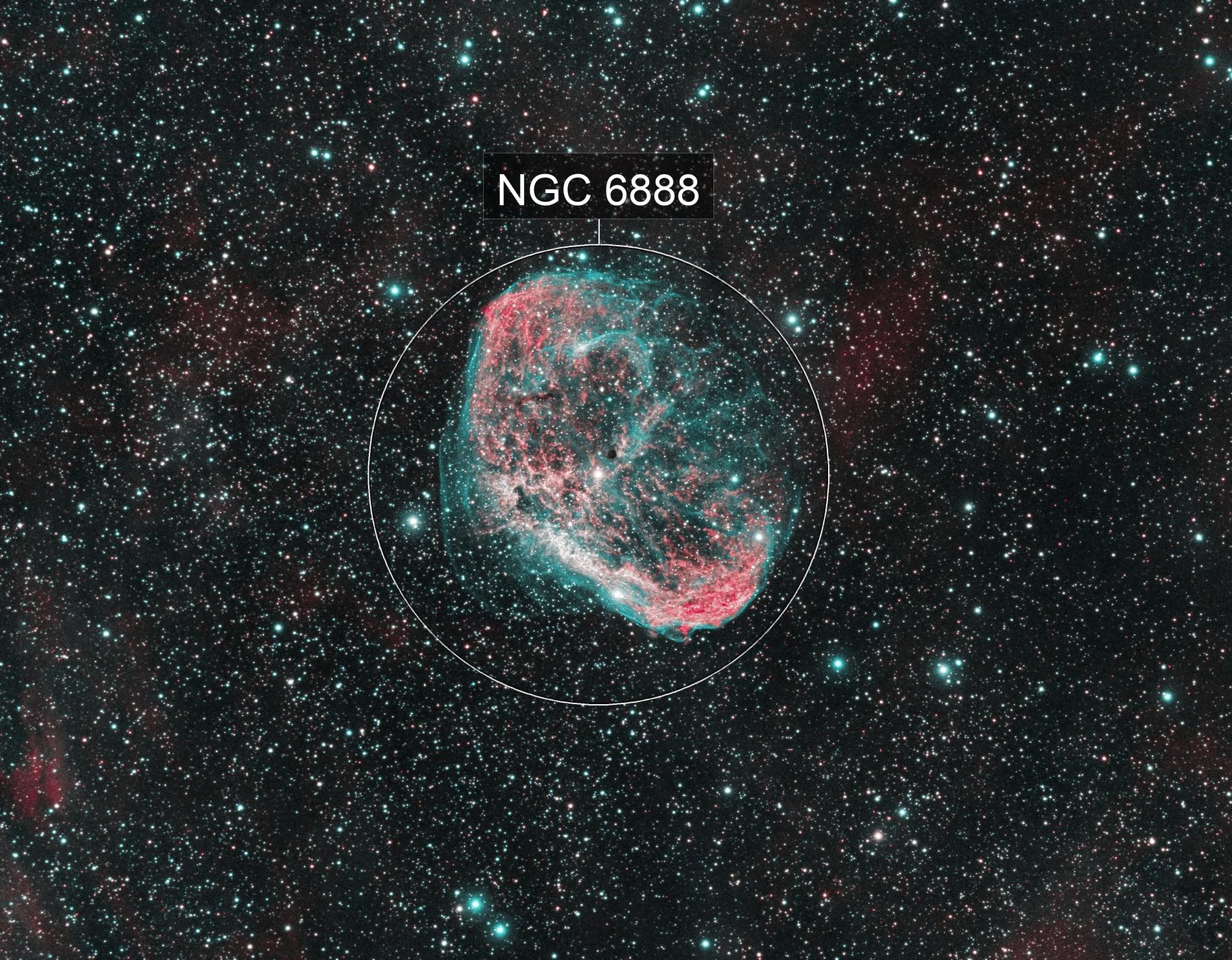 NGC 6888 - Crescent Nebula