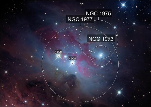 NGC 1977:  Runningman Nebula