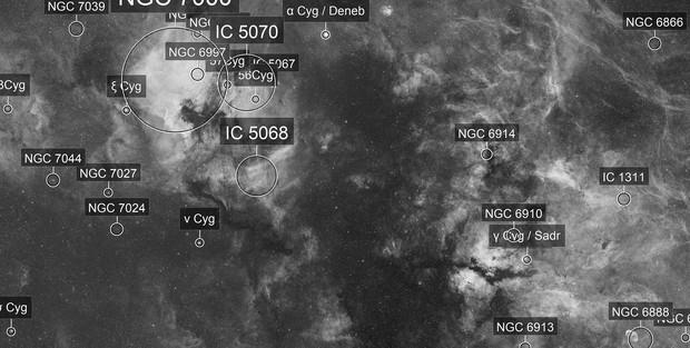 Cygnus Ultra Widefield in H-alpha band