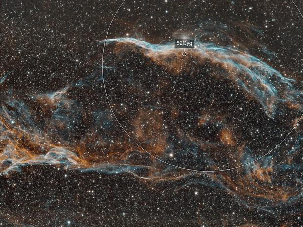 Westen Veil nebula